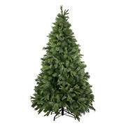 Northlight 7.5' Green Medium Ashcroft Cashmere Pine Artificial Christmas Tree - Unlit