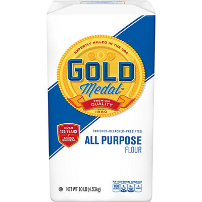 Gold Medal Premium Quality All Purpose Flour, 2 pk./10 lbs.