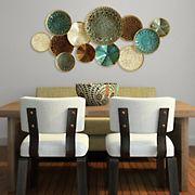 Stratton Home Decor Multi Plates Wall Decor