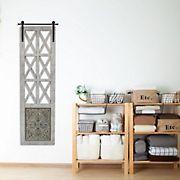 Stratton Home Decor Distressed Door Panel Wall Decor - Multi