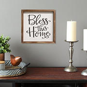 Stratton Home Decor Bless this Home Wall Art  - Multi