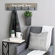 Stratton Home Decor Rustic Home Sweet Home Hooks