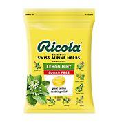 Ricola Sugar Free Lemon Mint Herb Throat Drops, 105 ct.