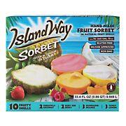 Island Way Sorbet Variety Pack, 10 ct.