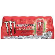 Monster Ultra Watermelon Energy Drink, 24 pk./ 16 oz.