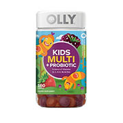 Olly Kid's Multi with Probiotic Gummies - Berry Punch, 160 ct.