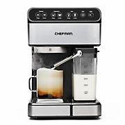 Chefman 6-In-1 Digital 15-Bar Pump Espresso Machine with Integrated Milk Frother