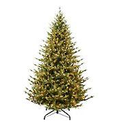Puleo International 7.5' Addison Fir Pre-Lit Tree with 850 ct. Lights
