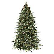 Puleo International 7.5' Colorado Blue Spruce Pre-Lit Tree