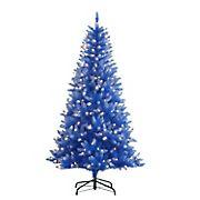 Puleo International 6.5' Fashion Pre-Lit Tree with 300 ct. Lights - Blue