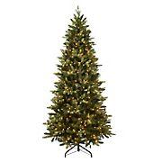 Puleo International 7.5' Slim Westford Spruce Pre-Lit Tree with 500 ct. Lights