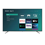 """Philips 75"""" 4000 Series PFL4 LED 4K HDR Roku Smart TV - 75PFL4756/F7 with 1-Year Warranty"""