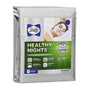 Sealy Healthy Nights 300 Thread Count Queen Size Sheet Set - MicroChip