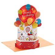 Hallmark Paper Wonder Peanuts Pop Up Birthday Card with Music & Lights