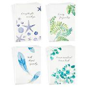 Hallmark Assorted Sympathy Cards, 12 ct. - Watercolor Nature