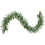 "Northlight 9' x 12"" Pre-Lit Canadian Pine Artificial Christmas Garland - Multi Lights"
