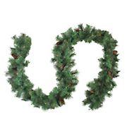 """Northlight 9' x 12"""" Royal Oregon Fir Artificial Christmas Garland - Unlit"""