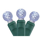Vickerman 33' LED G12 Berry Christmas Lights - White