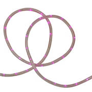 Northlight 18' LED Outdoor Christmas Rope Lights - Pink