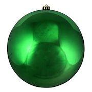 "Northlight 10"" Shatterproof Shiny Christmas Ball Ornament - Green"