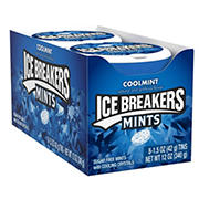 Ice Breaker Sugar Free Cool Mints, 8 pk.