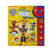 Paw Patrol Little Doorbell Ding Dong It's the Paw Patrol! (Sound Book)