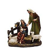 "13"" Nativity Scene with Joseph, Mary, and Baby Jesus Tabletop Figure"