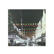 Northlight Christmas on Main Street in Pittsburgh Canvas Wall Art - LED Lighted