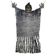 Northlight 11' Eerie Grim Reaper with Large Hands Hanging Halloween Figurine
