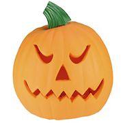 "Northlight 9.75"" Animated Double-Sided Pumpkin Halloween Decor - Orange and Green"