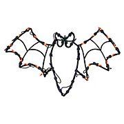 "Northlight 15"" Bat Halloween Window Silhouette Decoration - Lighted"