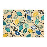 Waverly Greetings 2' x 3' Indoor/Outdoor Doormat - Gray