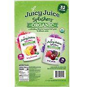 Juicy Juice Splashers Variety Pack, 32 ct./6 oz.