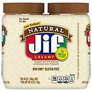 Jif Natural Creamy Peanut Butter, 48 oz.