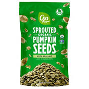 Go Raw Organic Sprouted Pumpkin Seeds with Sea Salt, 18 oz.