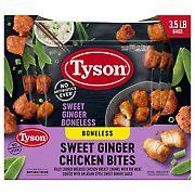 Tyson Sweet Ginger Boneless Chicken Bites, 3.5 lbs.