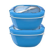 Bentgo Salad Lunch Box, 2 pk. - Blue