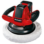 Einhell CE-CB Power X-Change 18V Cordless Random Orbit Car Rotary Buffer/Polisher Kit With Battery and Charger