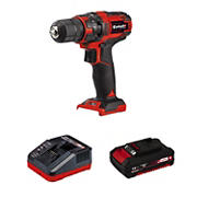 """Einhell TE-CD Power X-Change 18V Cordless 3/8"""" Variable Speed Drill/Driver With 310 In-Lbs Torque and 20+1 Torque Settings"""