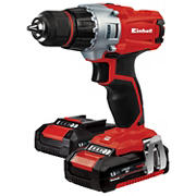 """Einhell TE-CD Power X-Change 18V Cordless 3/8"""" 2-Speed 1250 RPM MAX, Workshop Drill/Driver with Case, Belt Clip and 20+1"""