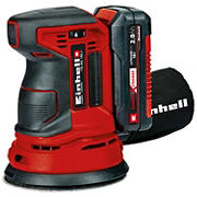 """Einhell TE-RS Power X-Change 18V Cordless 5"""" 22,000-OPM Max Variable Speed Random Orbital Palm Sander with Dust Collection"""