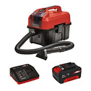 EINHELL TE-VC Power X-Change 18-Volt Cordless 2.7 Gallon Portable Wet and Dry Shop Car Extractor Vacuum Cleaner