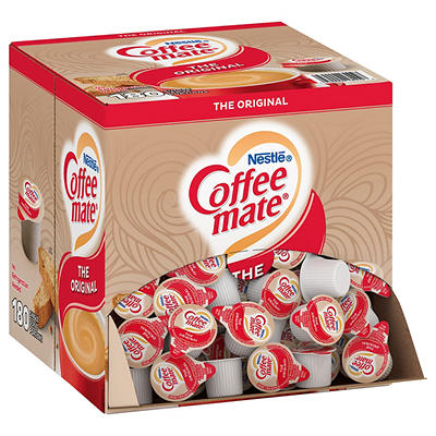 Nestle Coffee-mate Original Flavor Coffee Creamer Singles, 180 ct./0.3