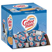 Nestle Coffee-mate French Vanilla Coffee Creamer Singles, 180 ct./0.375 fl. oz.