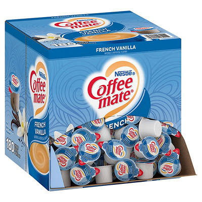 Nestle Coffee-mate French Vanilla Coffee Creamer Singles, 180 ct./0.37