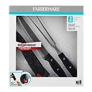 Farberware Edge keeper 3 Pc. Carving Knife Set - Black