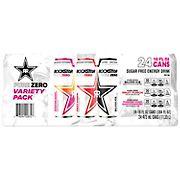 Rockstar Energy Drink Pure Zero Variety Pack, 24 ct./16 oz.