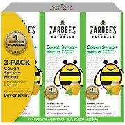 Zarbee's Naturals Children's Cough + Mucus Syrup, 3 pk./4 fl. oz.