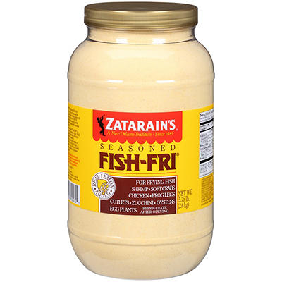 Zatarain's Seasoned Fish Fry, 5.75 lbs.