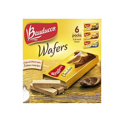 Bauducco Assorted Wafers, 6 pk.